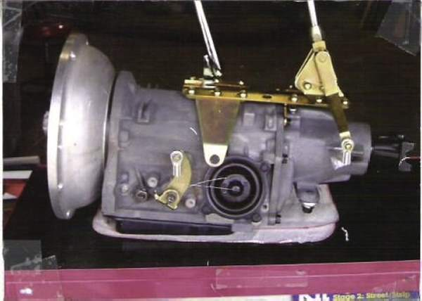 Ford C-4 for Ford flathead engine